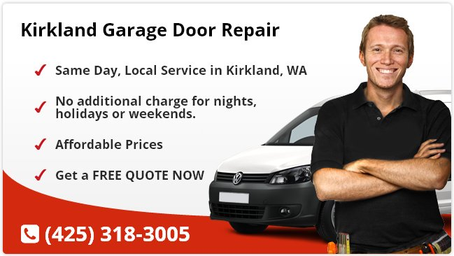Kirkland Garage Door Repair